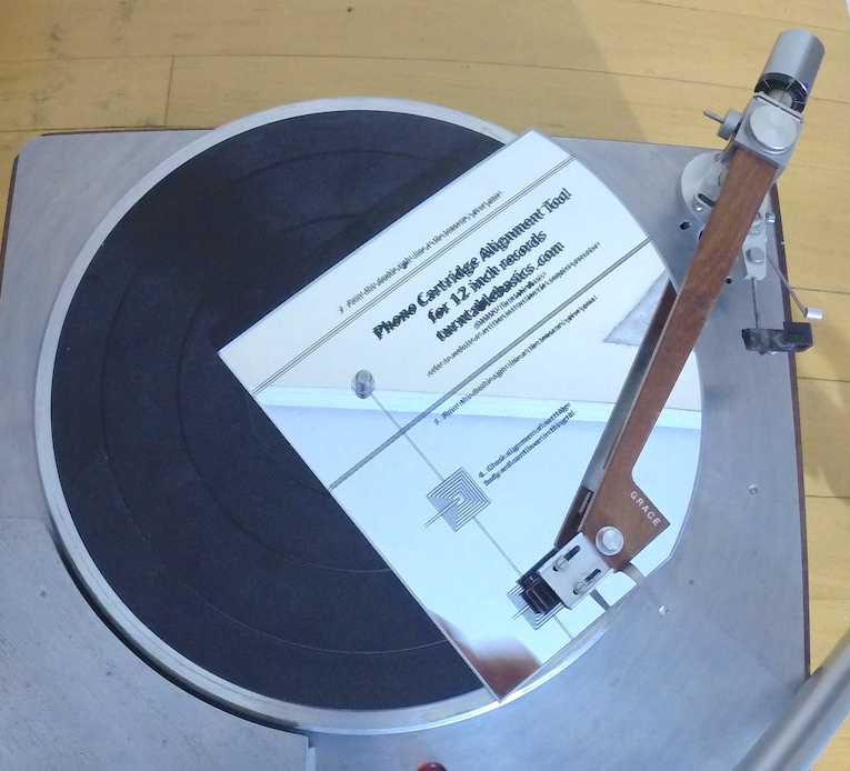 Phono Cartridge Alignment Tool By Turntable Basics