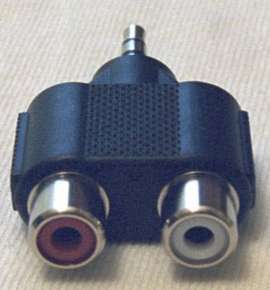 RCA Stereo-PC Audio Adapter Cable