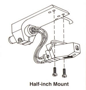 Half-Inch Mount Cartridge and Headshell System