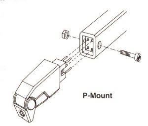 P-Mount Cartridge and Headshell System